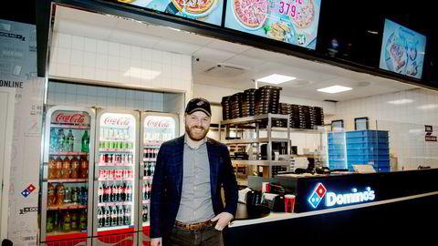 Den utenlandske giganten Dominos kjøpte opp smulene etter Dolly Dimples i 2017. Norgessjef Kenneth Lorentzen har som mål å bli den største pizzakjeden i Norge.