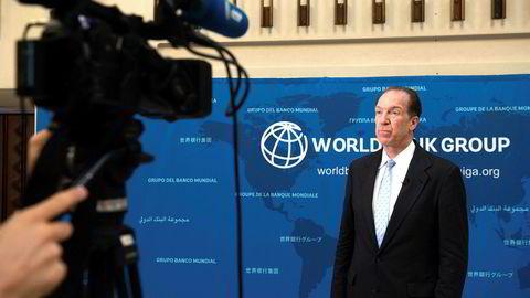 Verdensbanksjefen David Malpass ser ikke særlig lyst på fremtiden for verdensøkonomien. Ved en konferanse i Washington D.C. tirsdag sa han at «svekkelsen i den globale veksten er bred».