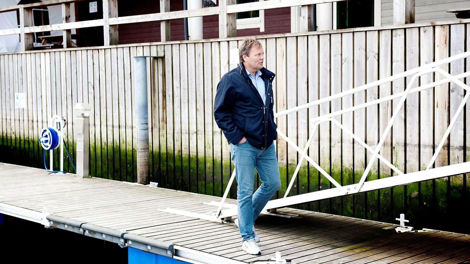 Stig Remøy, administrerende direktør i Olympic Shipping, beholder kontrollen over båtene sine.