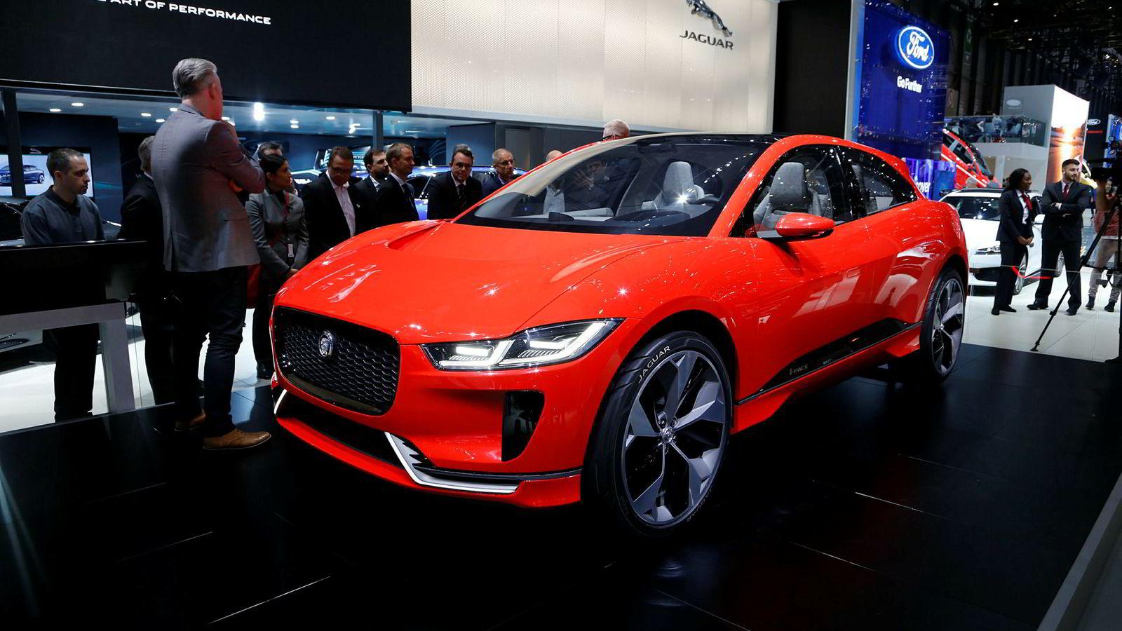 Jaguar I-Pace i konseptversjon har vært i Norge ved flere anledninger. Produksjonsmodellen er ventet å komme til sommeren.