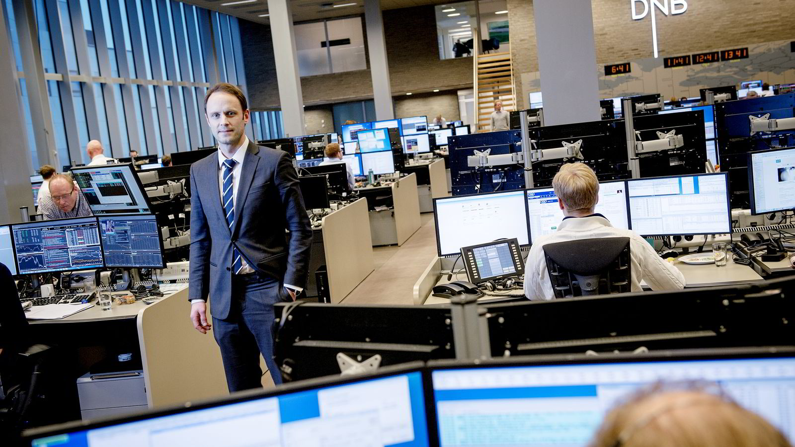 Valutastrateg Magne Østnor i DNB Markets. Foto: Gorm K. Gaare.