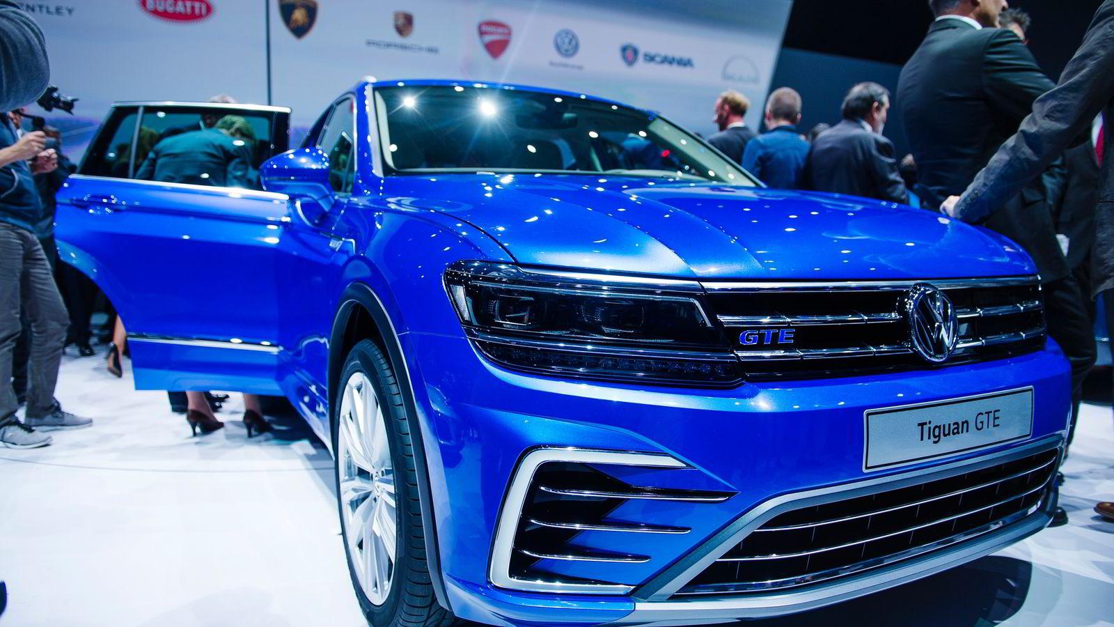 e89f6ac6 Volkswagen presenterer en ladbar versjon av den nye generasjonen Tiguan.