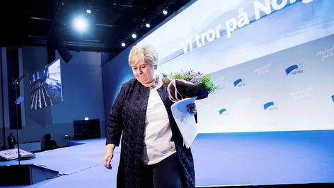 – Vi har et optimistisk budskap, sa partileder og statsminister Erna Solberg da hun holdt åpningstale på Høyres landsmøte.