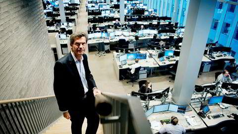 Ottar Ertzeid, sjefen for DNB Markets, sier mange aktører har ønsket å bruke Norges største bank til å parkere aksjer for å spare skatt – men de har fått nei. Han tror det er viktig at ansvaret for å melde til myndighetene ligger utenfor bankene.
