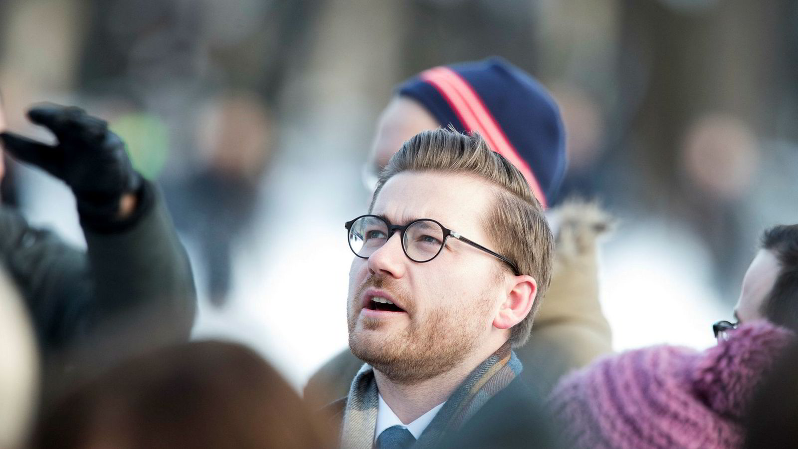 Advokatfullmektig og tidligere stortingsrepresentant for Venstre, Sveinung Rotevatn, blir statssekretær for Sylvi Listhaug (Frp). Her fra Slottsplassen onsdag.