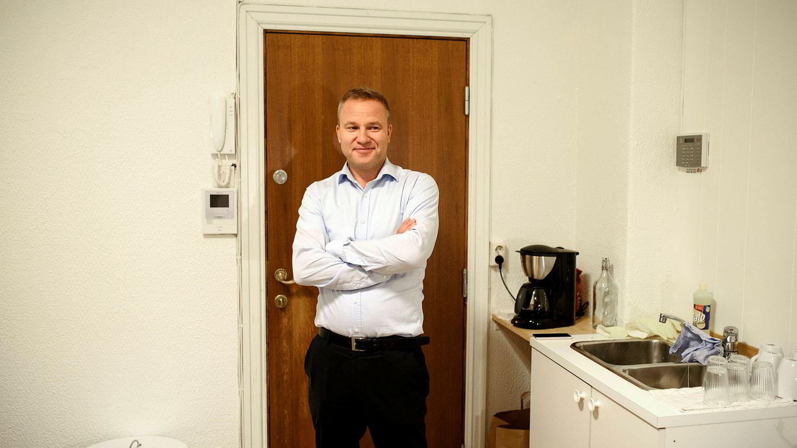 Helge Lurås, redaktør for Resett.