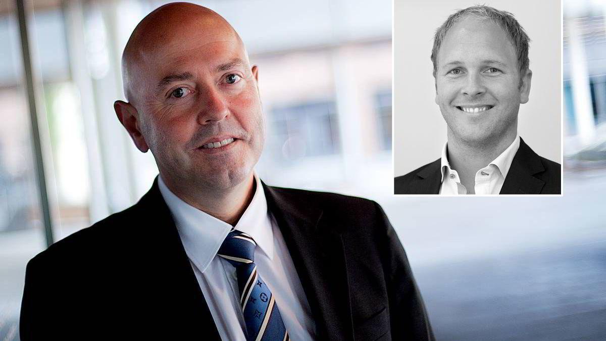 Privatmeglerens mestselgende megler Fredrik Dyve (innfelt) overtar roret når Miguel V. Sørholts franchiseavtale utløper 1. oktober.