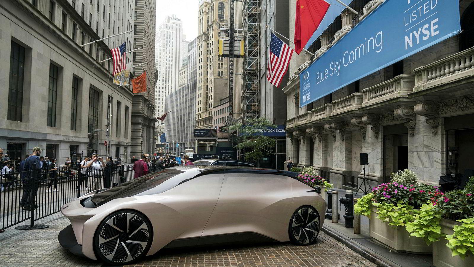 Den kinesiske elbilprodusenten Nio klarte ikke å hente inn 15 milliarder kroner under emisjonen før børsnoteringen i USA. Nye modeller skal konkurrere direkte med Tesla i Kina og fremvoksende markeder.