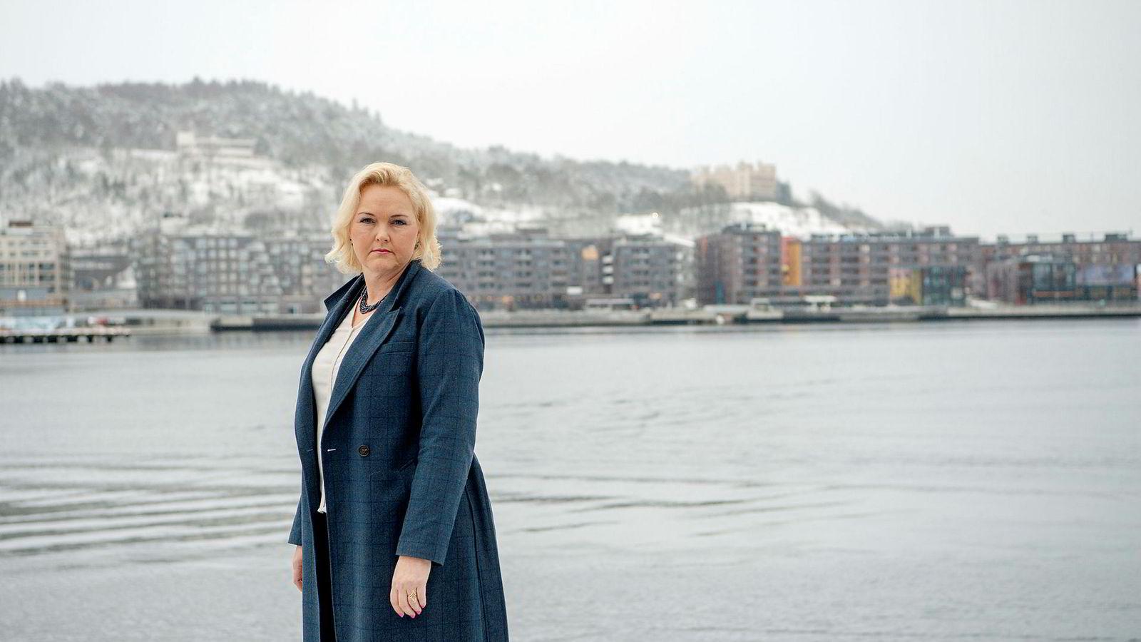 Liv Anne Holst kommunikasjonssjef i Bisnode.