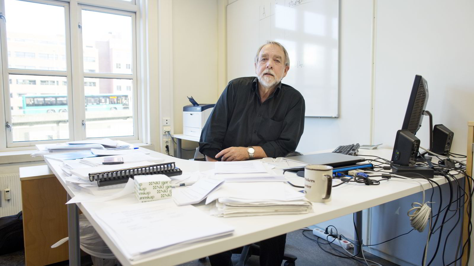 Westerdals-rektor Bjørn Jarle Hanssen erkjenner at skolens film og tv-linje var en egen studieretning. Nå skal Kunnskapsdepartementet vurdere om studiet, som ikke var formelt godkjent, har fått statsstøtte på feil grunnlag.