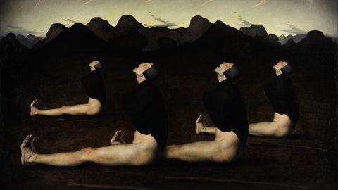 Oljemaleriet «Dawn» av Odd Nerdrum (1990). Foto: Sotheby's