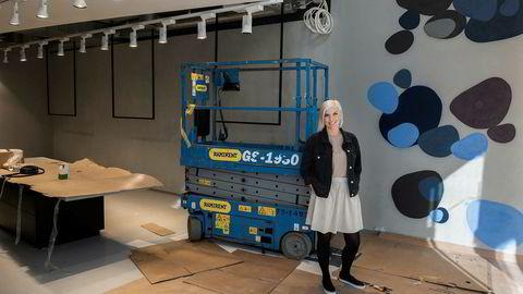 – Her skal kundene få en opplevelse av å være, sier Gunn Heidi Lilleengen, daglig leder i Retail Drift.