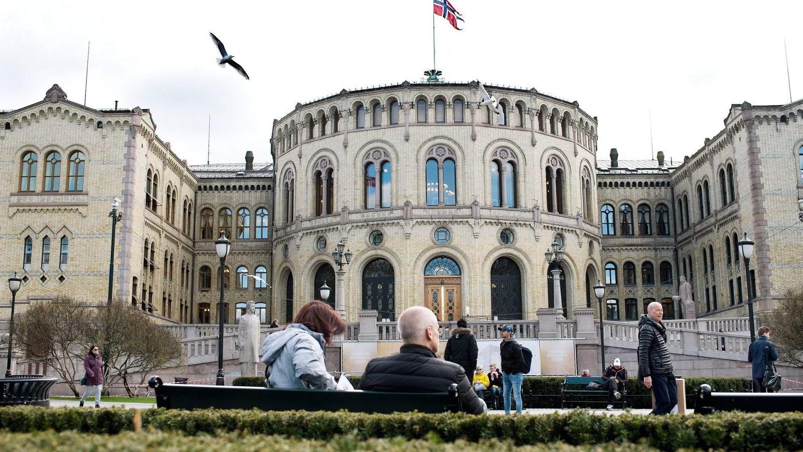Onsdag legges revidert nasjonalbudsjett frem i Stortinget.