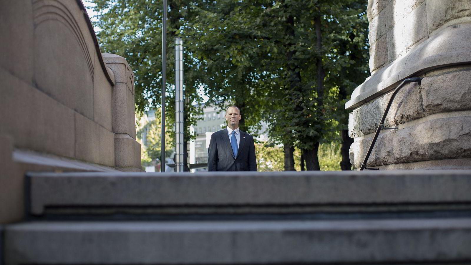 Tore Vamraak ( H ) er statssekretær i Finanansdepartementet. Foto: