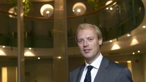 Oslo, 13.08.14: Henrik Knudtzon, finansdirektør i Idex ASA. Foto: Elin Høyland
