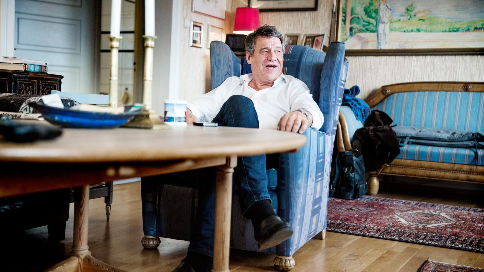 Lunders advokat, Cato Schiøtz, sier han kjenner identiteten til både avsenderen og mottagerne. Foto: Per Thrana