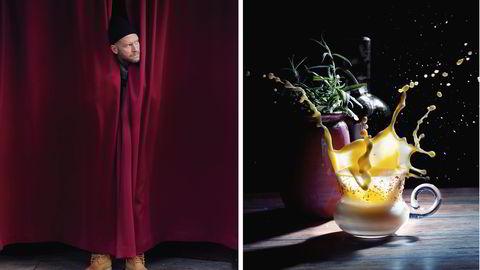 GOD JUL. Mattias Borglunds kremgule juledrink gir et vennlig nikk til amerikansk eggnog