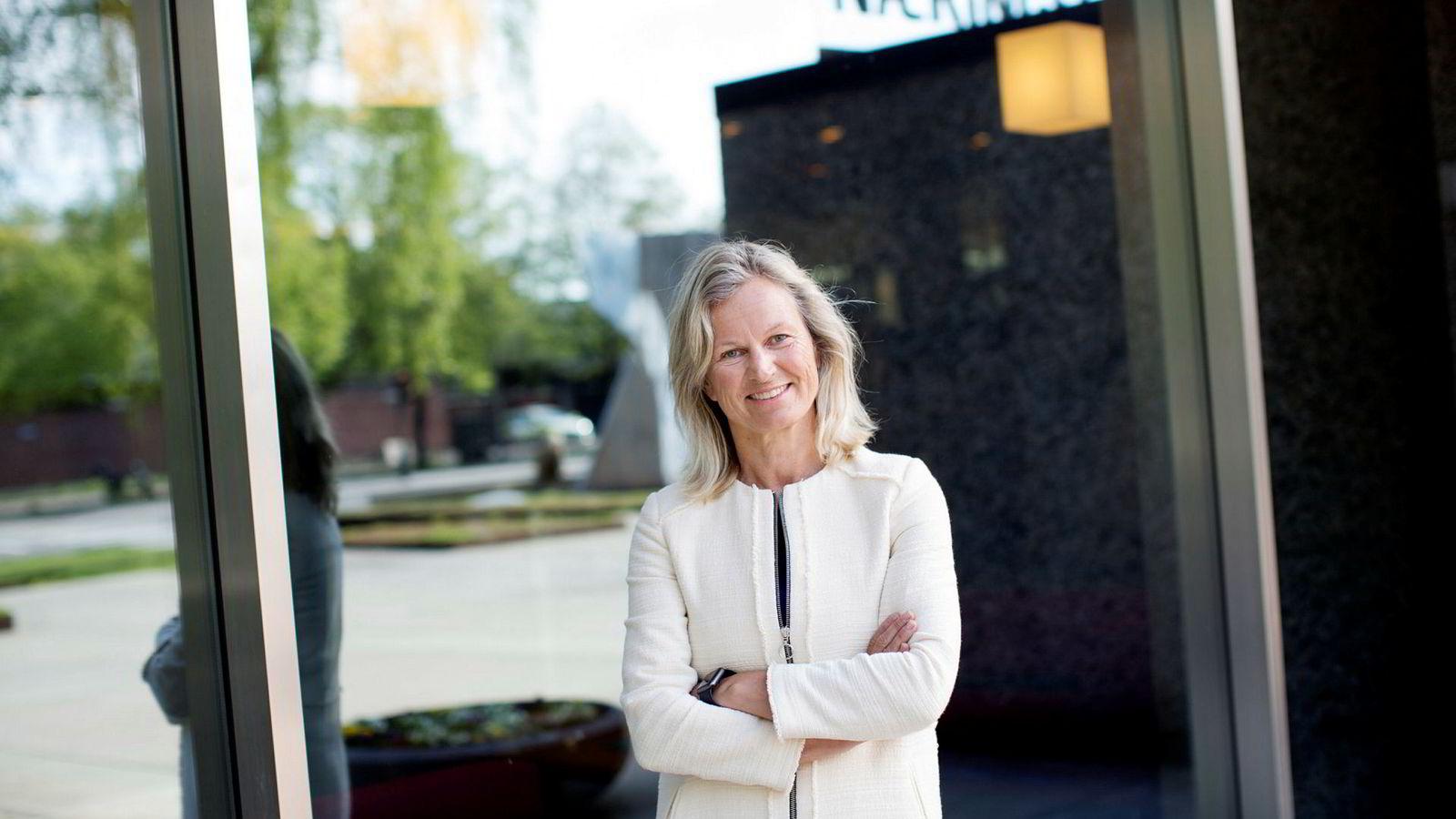 Administrerende direktør Kristin Krohn Devold i NHO Reiseliv gjør som mange nordmenn og reiser bort i påsken.