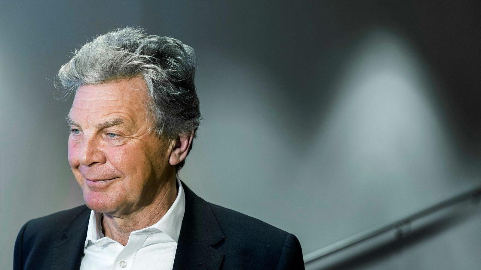 Styreleder Bjørn Kise i Norwegian.
