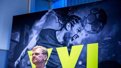 XXL-sjef Fredrik Steenbuch bruker ikke penger på bil og hus. Foto: Fartein Rudjord