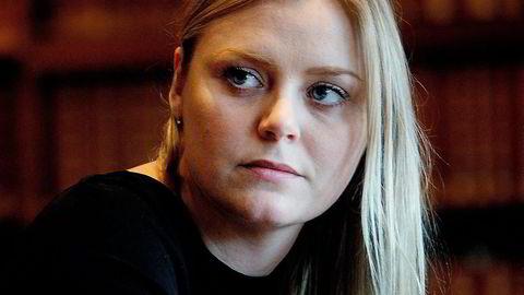 Tina Bru  pekes ut som et av de største ledertalentene i Høyre.  Foto: Mikaela Berg