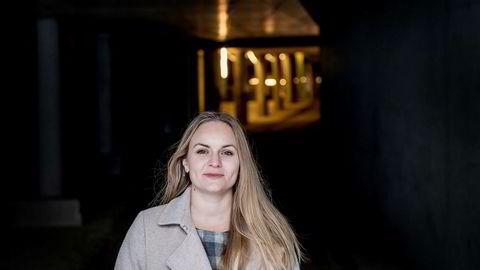Julie Indrelid (29) fattet interesse for sikkerhet mens hun tok mastergrad i eiendomsutvikling. Det ble vanskelig å finne veileder med kompetanse på feltet, til gjengjeld fant hun sin nåværende arbeidsgiver.