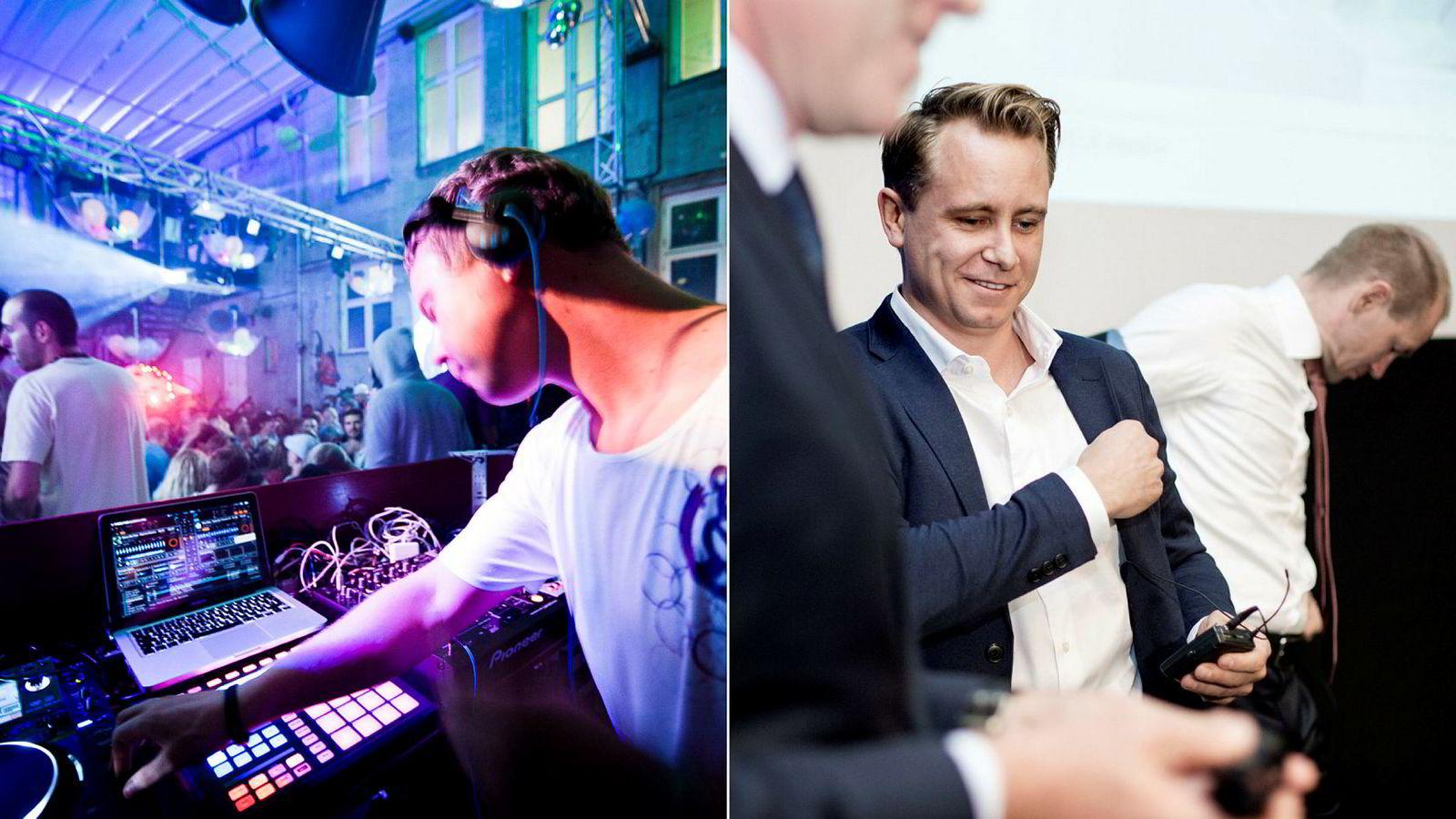 Nils Noa er artistnavnet til DJ-en Nils Olav Lausund. Kristian Røkke skal nå spille med DJ-en på The Villa i Oslo.