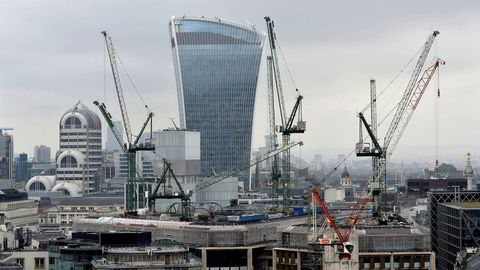 Skyskraperen «Walkie-Talkie» i 20 Fenchurch Street i City of London er nå offisielt Storbritannias dyreste bygning.