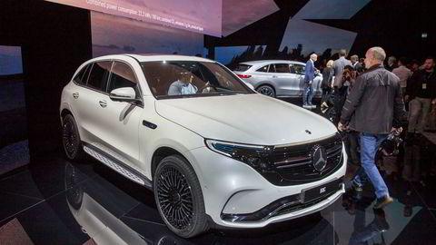 Mercedes-Benz har akkurat vist frem den første av sine nye elbiler EQC.