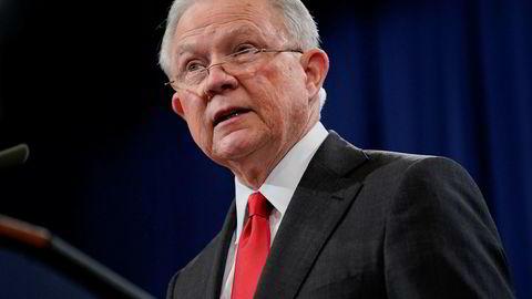 USAs justisminister Jeff Sessions går av.