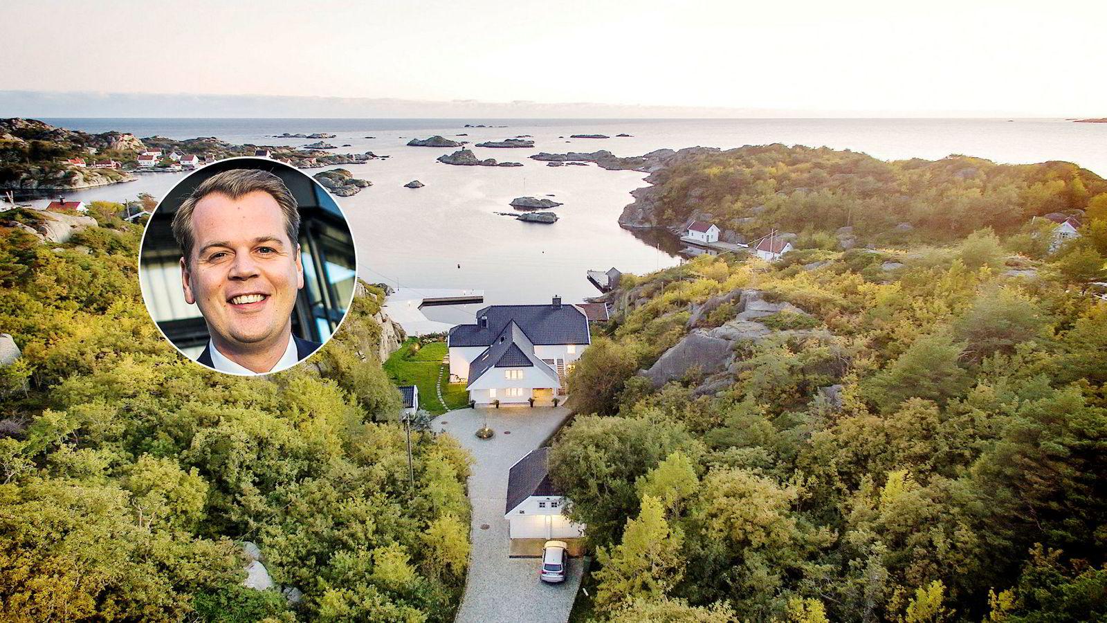 Oslo, Norge, 25-11-2014:Frontline resultater 3Q. Administrerende direktør Robert Hvide Macleod på kontoret på Aker Brygge. Foto: Gunnar Blöndal ---