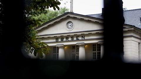 Oslo Børs faller mandag ettermiddag. Foto: Adrian Nielsen