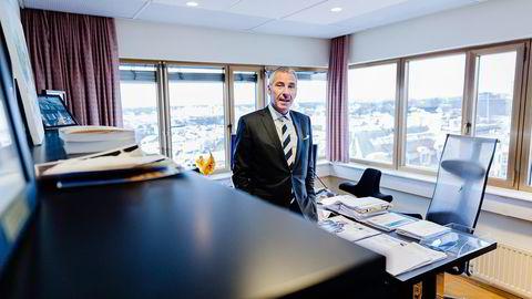 PRESSET. Managing partner Nils H. Thommessen i Wiersholm mener bostyrer Tone Bjørn har presset på for å få utlevert dokumenter.