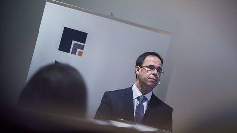 Konsernsjef Luis Araujo i Aker Solutions. Foto: Gunnar Blöndal