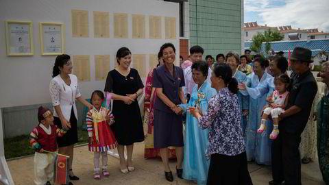 Godt fremmøte ved valget i Nord-Korea.