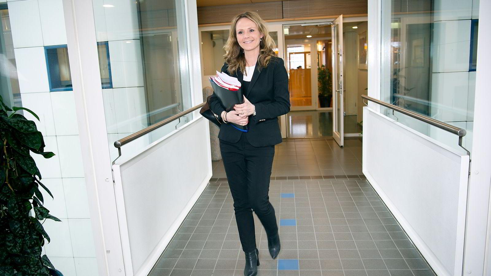 Kulturminister Linda H. Helleland.