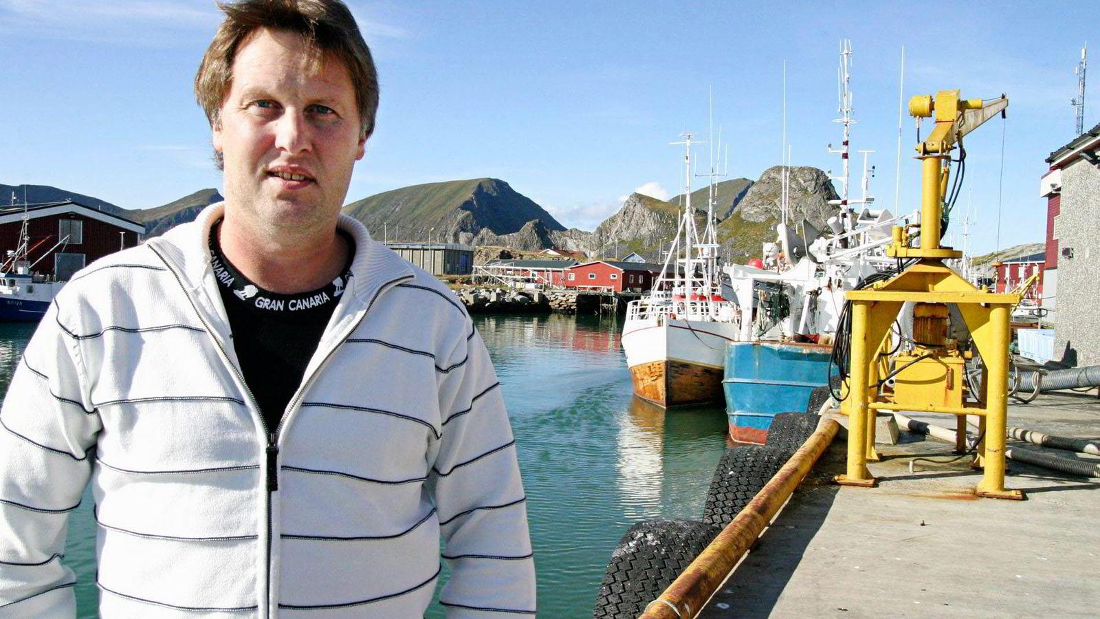 SILDETRØBBEL. Lofoten Viking-sjef Arne Mathisen permitterte de ansatte umiddelbart etter nyheten om at norske produkter er utestengt fra Russland. Nå leter han etter nye markeder. Alle foto: Remi Johansen/Lofotposten