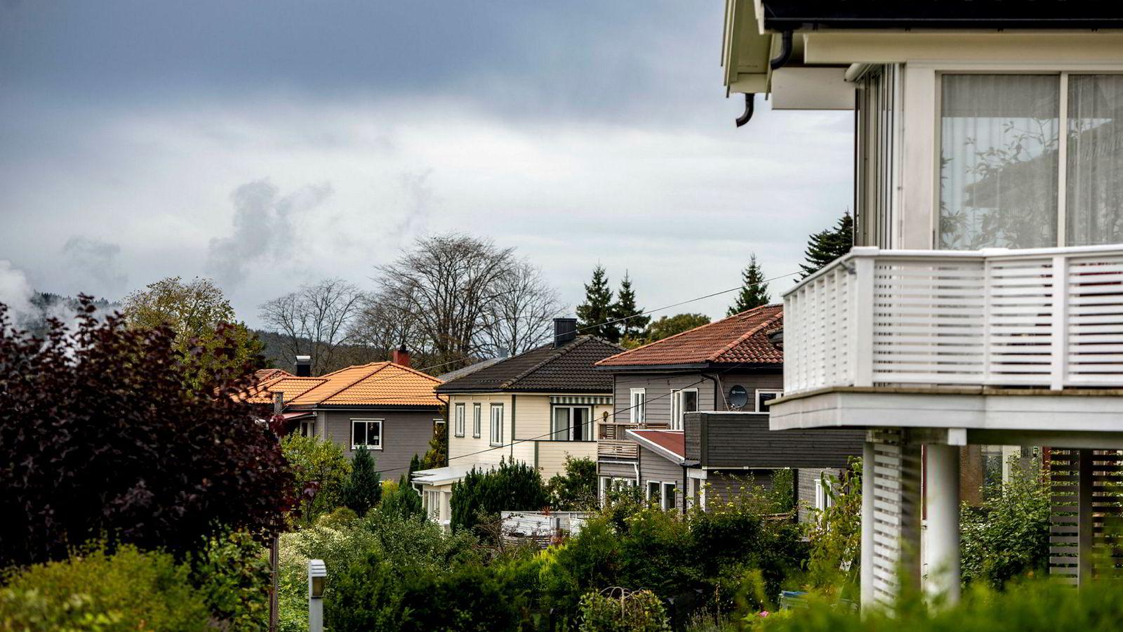 Moss er blant landets sterkeste boligmarkeder, med raske salg og forsiktig prisstigning.
