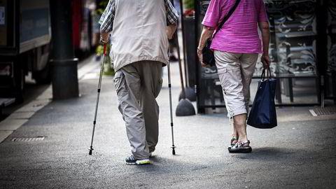 Stadig flere eldre har fortsatt boliggjeld etter at de har gått av med pensjon. Illustrasjonsfoto: Klaudia Lech