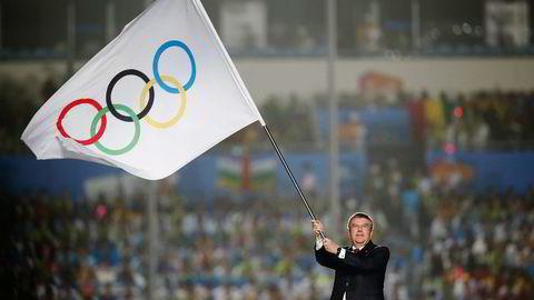 IOC liker ikke at Norge trakk sitt kandidatur. Her er IOC-president Thomas Bach. Foto: Aly Song, Reuters/NTB Scanpix