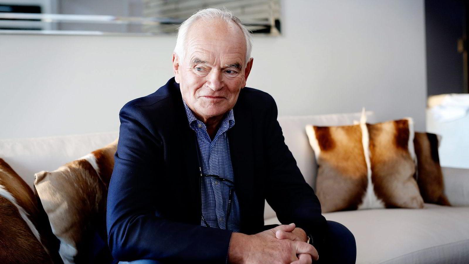 Trond Mohn måtte i 2015 ta et valutatap på 528 millioner kroner i regnskapet for datterselskapet Wimoh. Nå er han på inntektstoppen for Norge i 2015. Foto: Kristin Svorte
