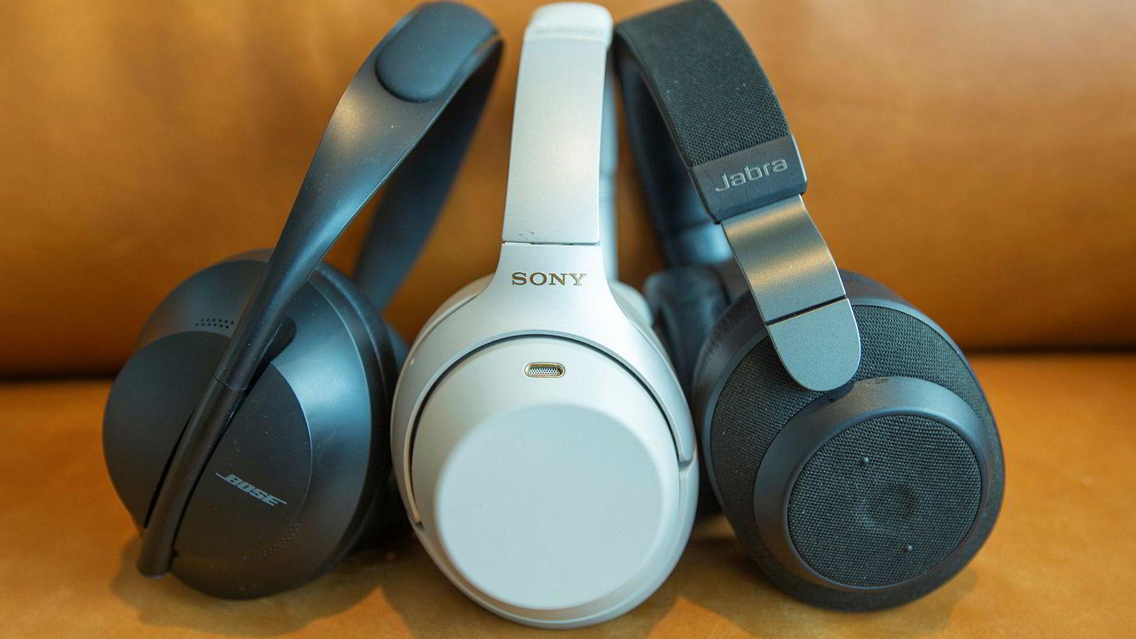 Sony WH-1000XM3, Bose NCH 700 og Jabra Elite 85h er tre av våre favoritter så langt i 2019.