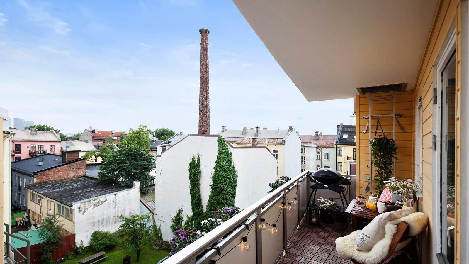 Denne toromsleiligheten på Grünerløkka ble solgt for 4.125.000 kroner, 1.175.000 over antydning – en prisstigning på 56 prosent siden forrige omsetning for to og et halvt år siden.