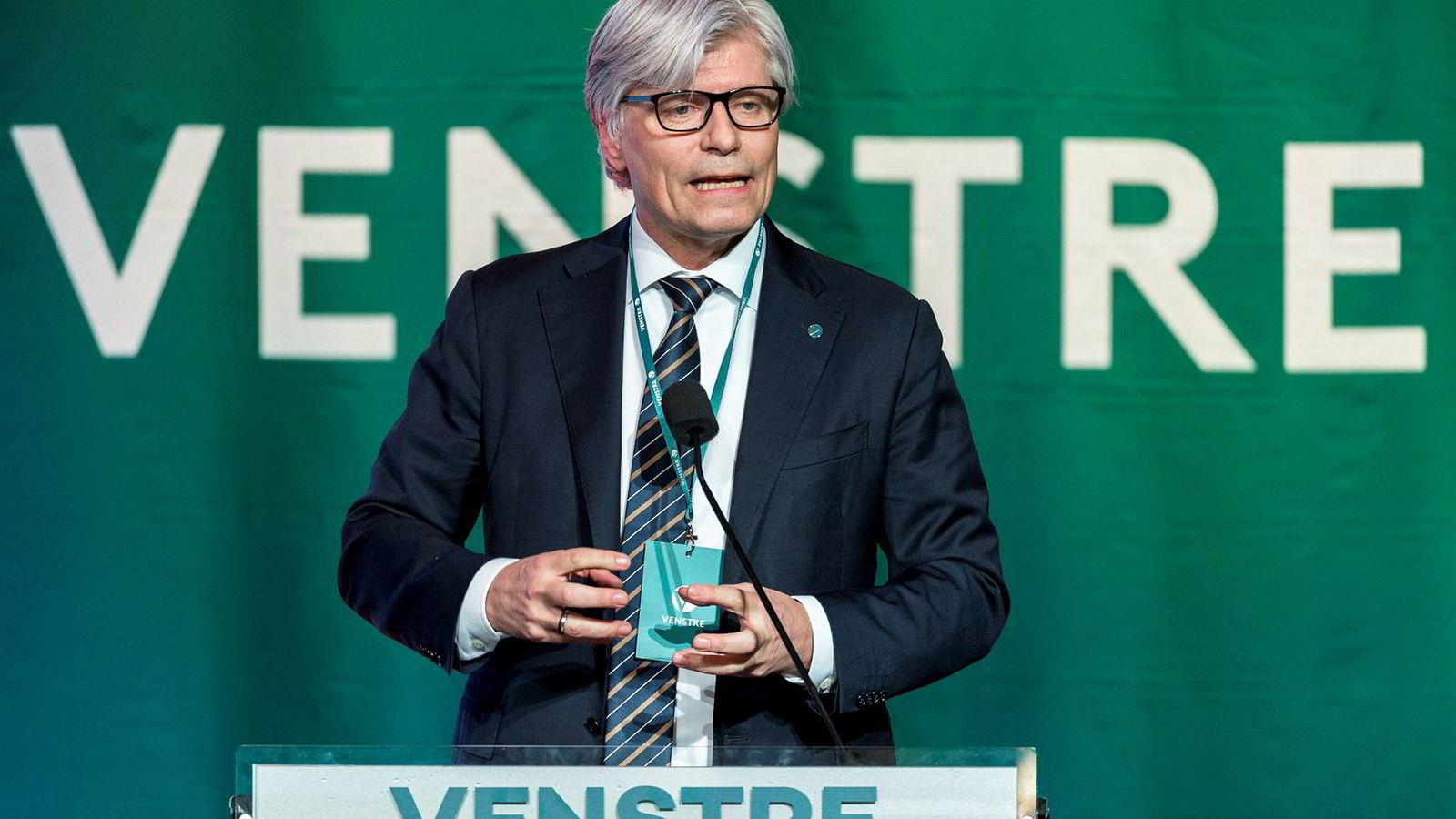 Ola Elvestuen er denne helgen på Venstres landsmøte på Hell.