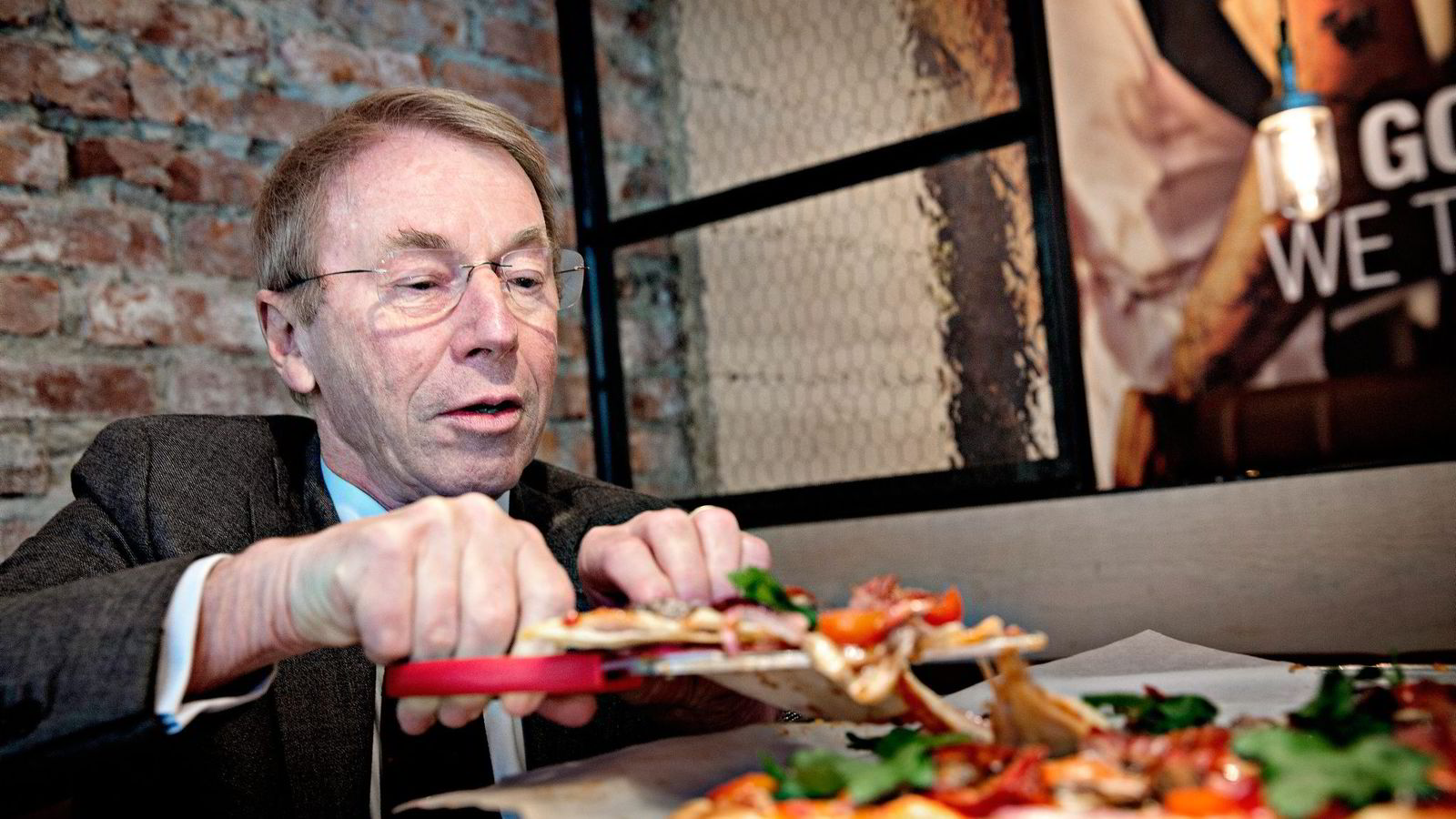 Jens Ulltveit-Moes pizzaimperium Peppes Pizza overtok kontrollen over konkurrenten Dolly Dimples som eies av Norgesgruppen. Nå sier Konkurransetilsynet nei. Foto: Aleksander Nordahl