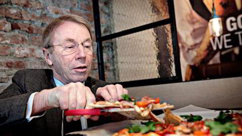 Jens Ulltveit-Moes pizzaimperium Peppes Pizza overtar kontrollen over konkurrenten Dolly Dimples som eies av Norgesgruppen.                    Foto: Aleksander Nordahl
