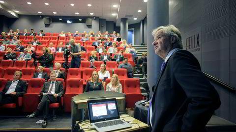 Norwegian-sjef Bjørn Kjos legger onsdag morgen frem tallene for andre kvartal for analytikere og andre.