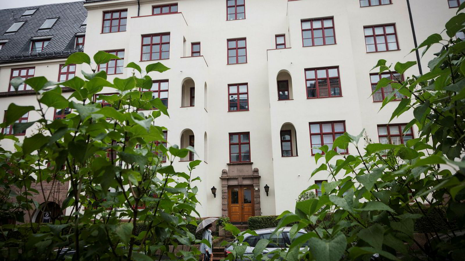 Tidligere Mærsk-direktør Trond Westlie kjøper Jan Petter Colliers leilighet i Fritzners gate 19.