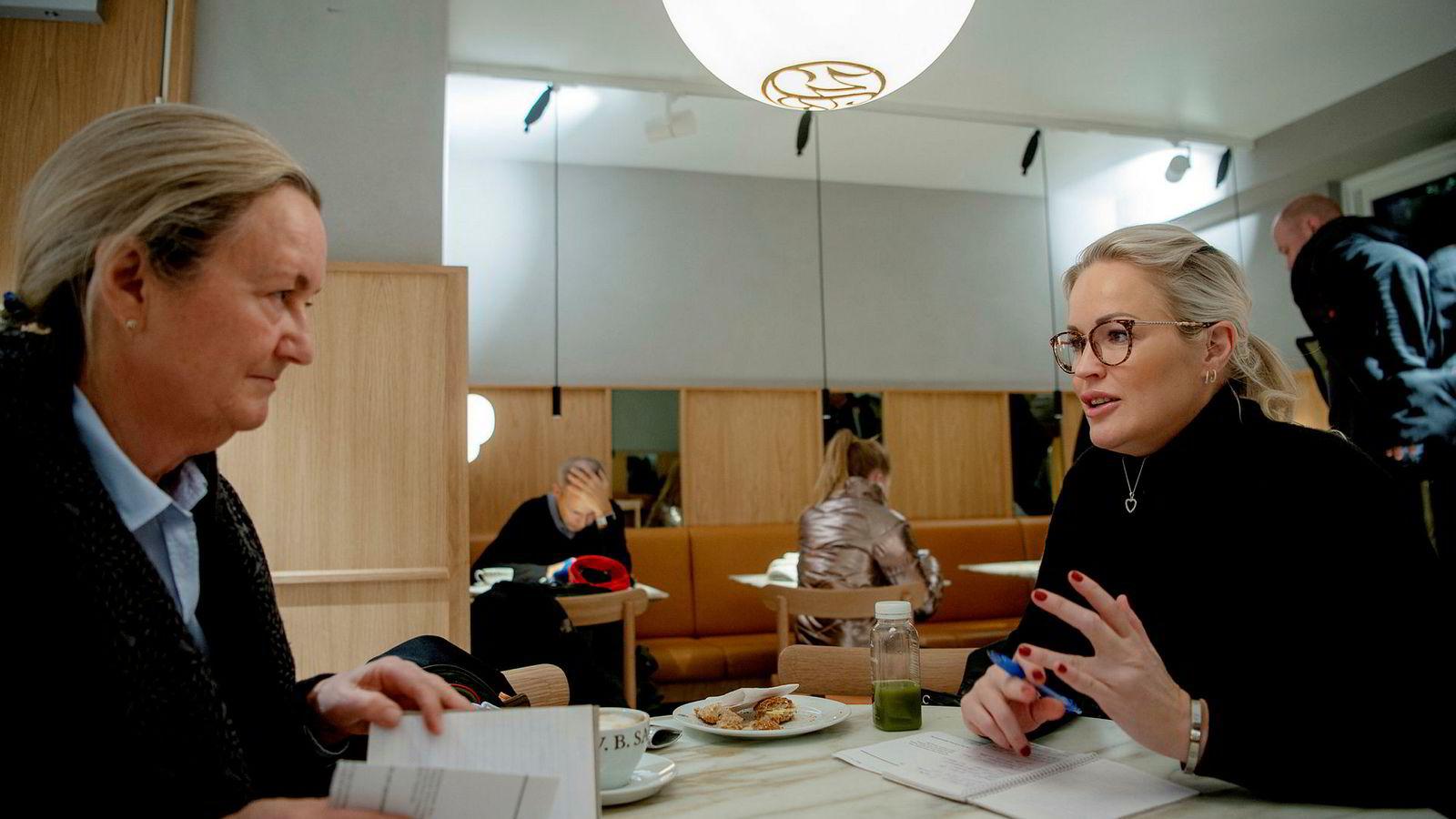 Mellomleder på Diakonhjemmet sykehus, Stine Bøe Gundersen (40) har lært ledelsesknep av sin mentor, Rotary-medlem og mangeårig DnB-leder Siri Røsberg (62).