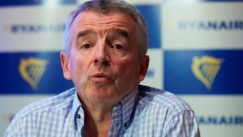 – Vi har lagt ned basene på steder som Marseille eller Rygge på grunn av trusselen for å bli påtvunget fagforeninger, sier Ryanair-toppsjef Michael O'Leary nå.